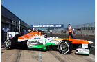James Calado - Force India - Young Driver Test - Silverstone - 17. Juli 2013