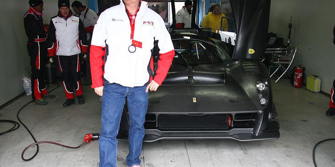 James Glickenhaus, Ferrari P4/5 Competizione
