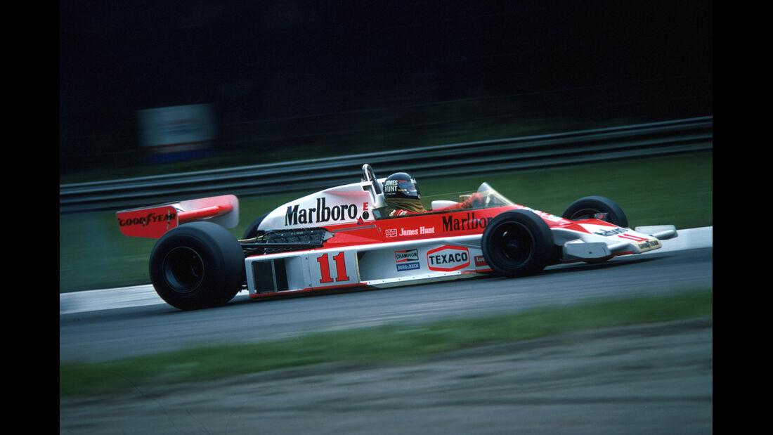 James Hunt GP Italien 1976
