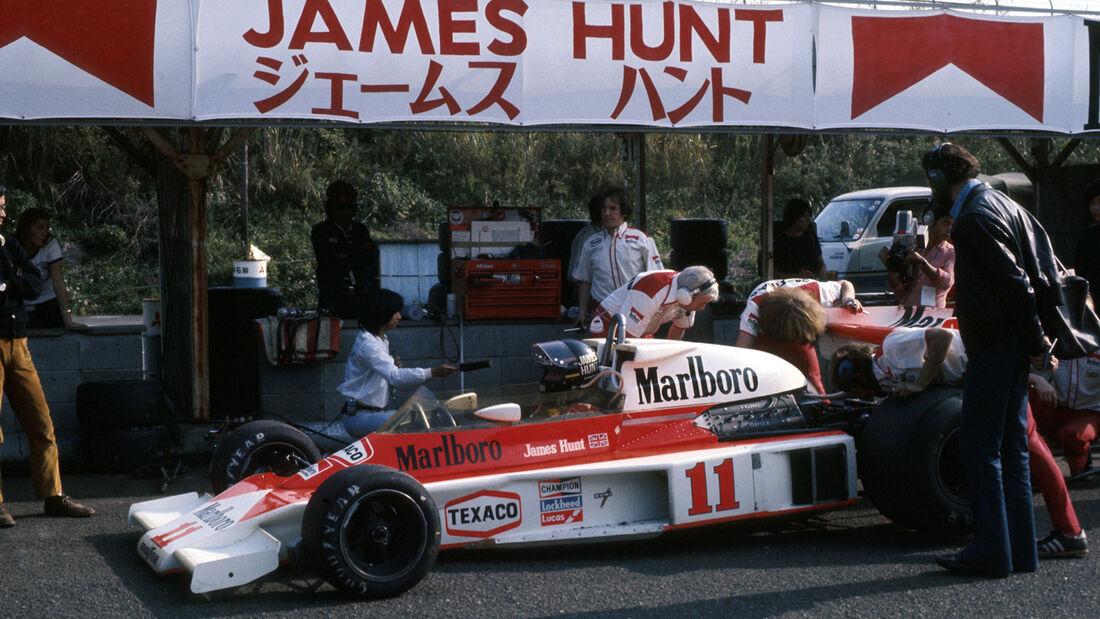 James Hunt GP Japan 1976