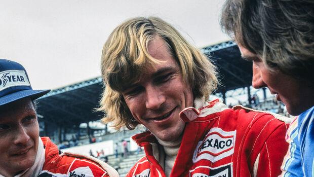 James Hunt - GP Japan 1976