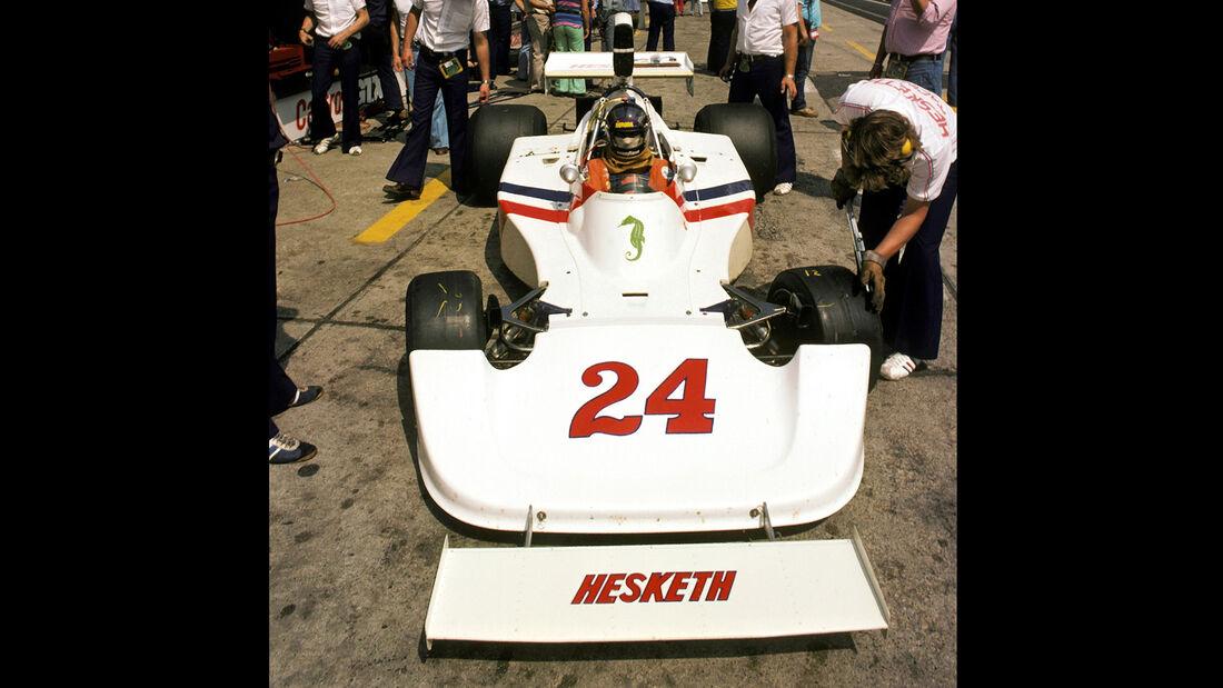 James Hunt - Hesketh 308 - GP Deutschland 1975