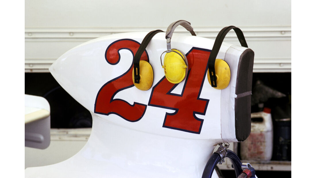 James Hunt - Hesketh 308B - GP Spanien 1975