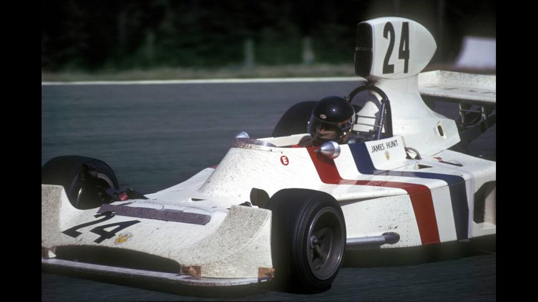 James Hunt Hesketh Ford 308 1974