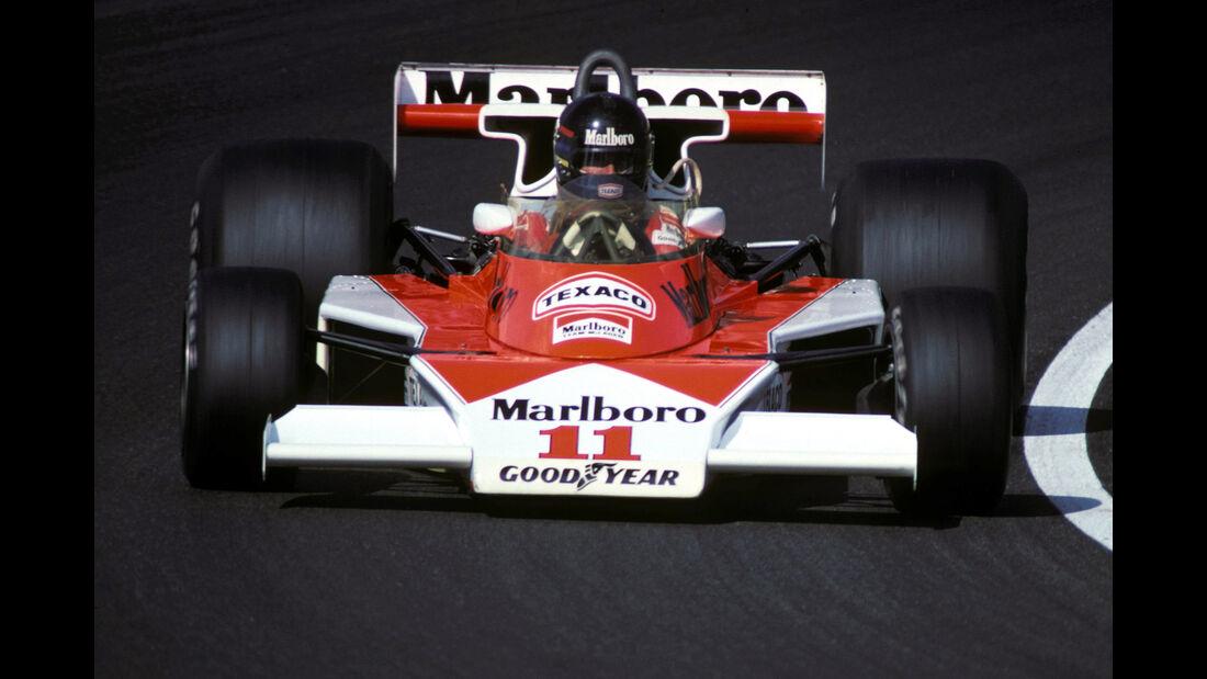 James Hunt - McLaren M23 - GP Holland 1976