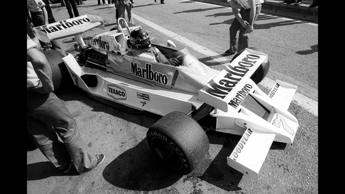 James Hunt - McLaren M26 - GP Spanien 1978