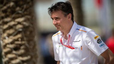 James Key - McLaren - GP Bahrain 2019 - Formel 1