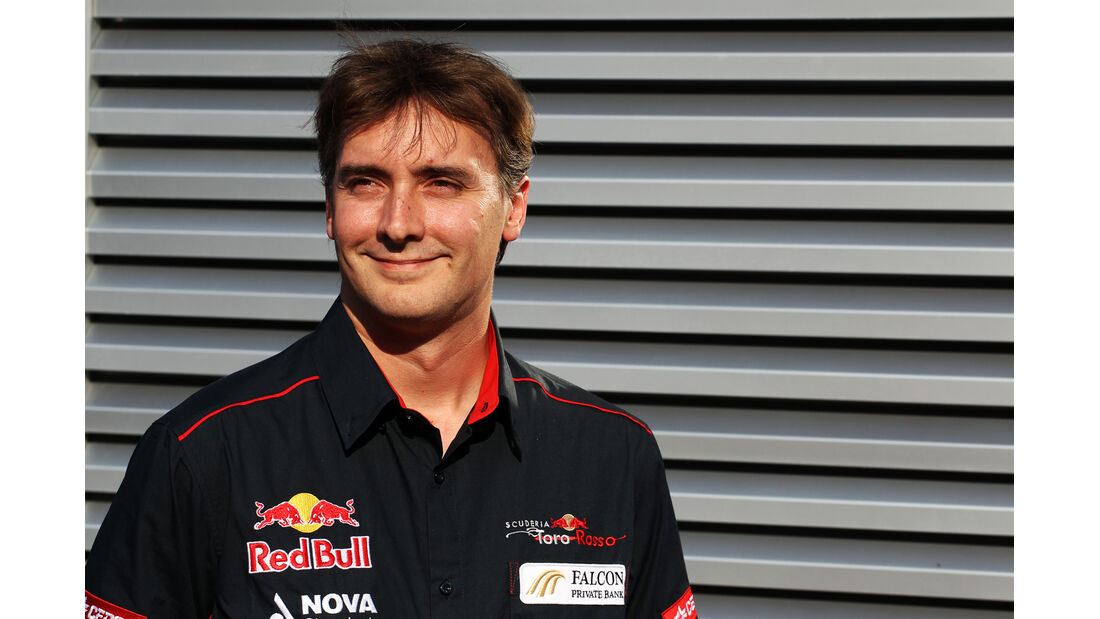 James Key Toro Rosso 2012