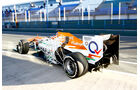 James Rossiter Force India F1 Test Jerez 2013 Highlights