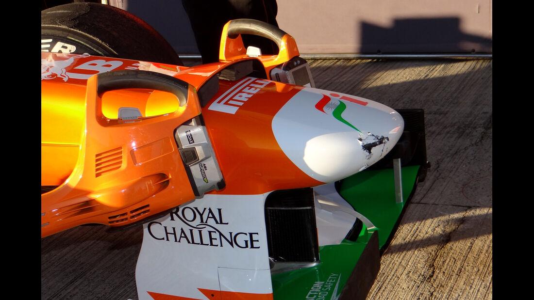 James Rossiter - Force India - Formel 1 - Test - Jerez - 7. Februar 2013