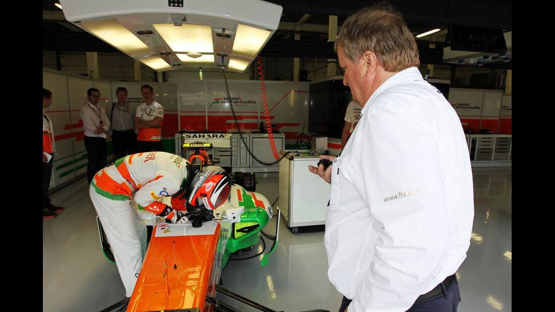 James Rossiter - Formel 1 - GP England - 27. Juni 2013