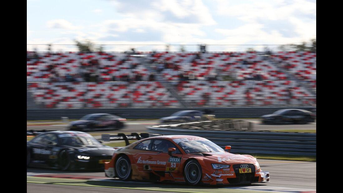 Jamie Green - Audi - Bruno Spengler - BMW - DTM - Moskau - 1. Rennen - Samstag - 29.08.2015