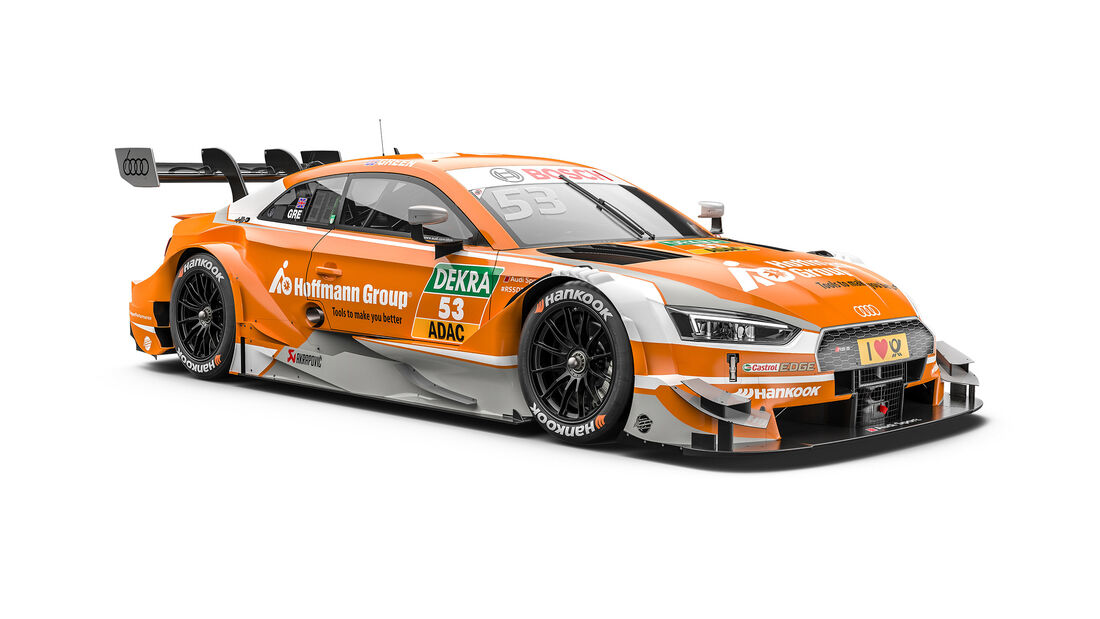 Jamie Green - Audi - DTM-Auto 2017