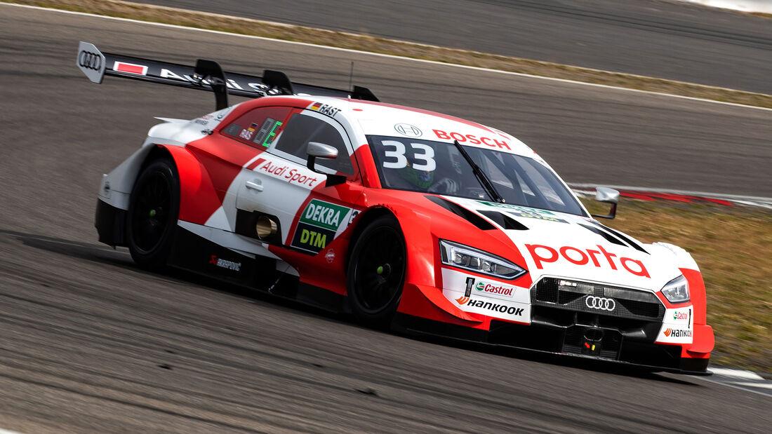 Jamie Green - Audi RS 5 - DTM - Testfahrten - Nürburgring - Juni 2020
