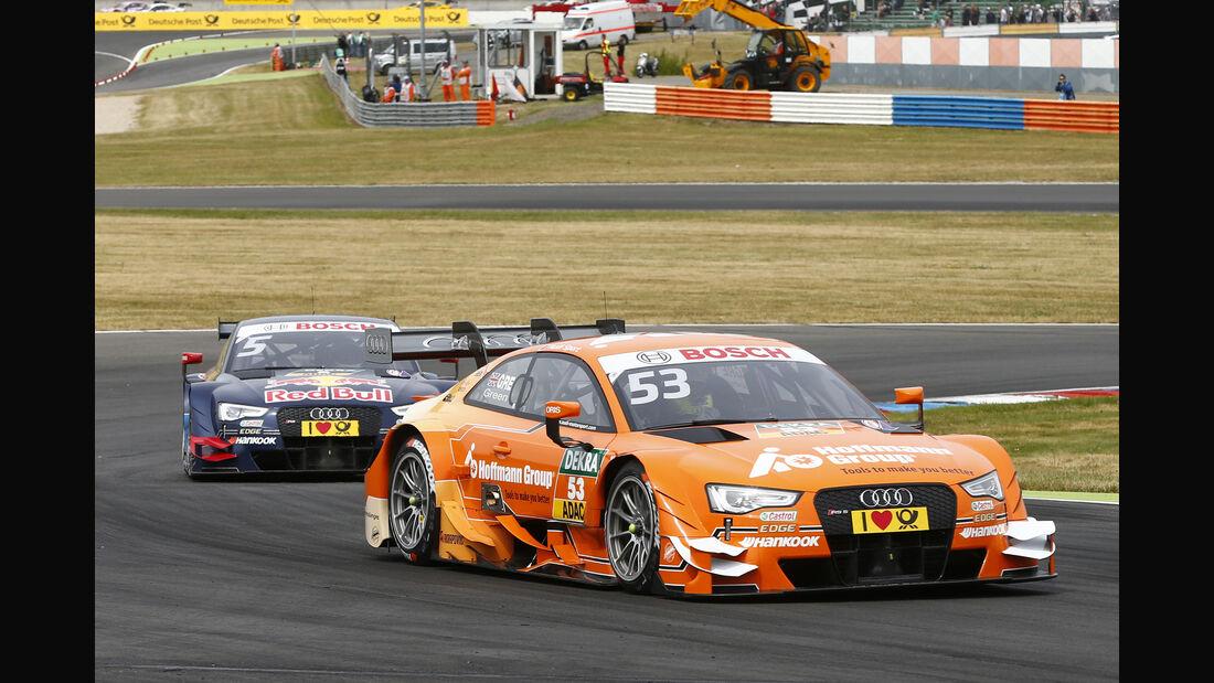 Jamie Green - DTM Lausitzring - 2015