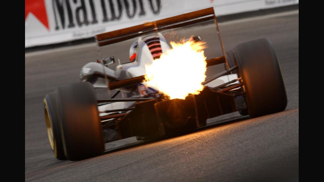 Jamie Green - Formel 3 Feuer