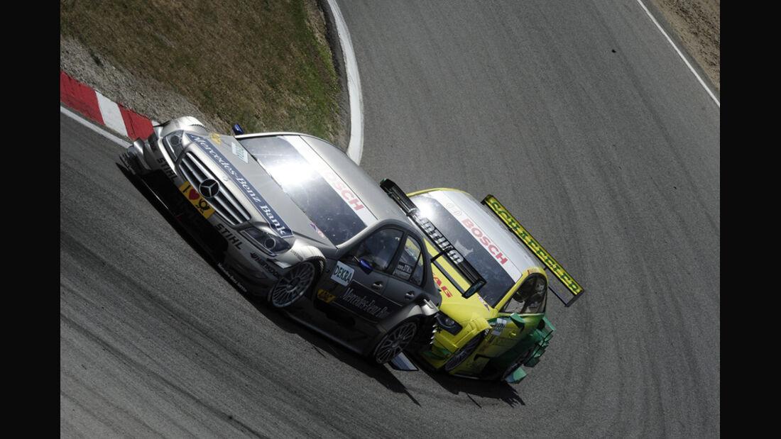 Jamie Green Martin Tomczyk DTM Zandvoort 2011