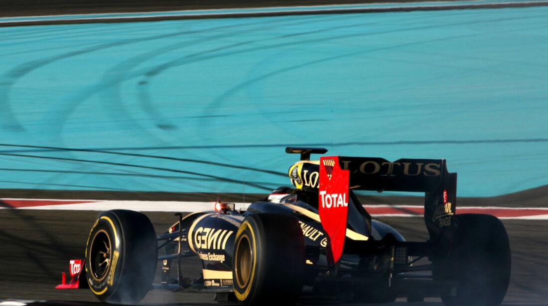 Jan Charouz - Renault - Young Driver Test - Abu Dhabi - 17.11.2011