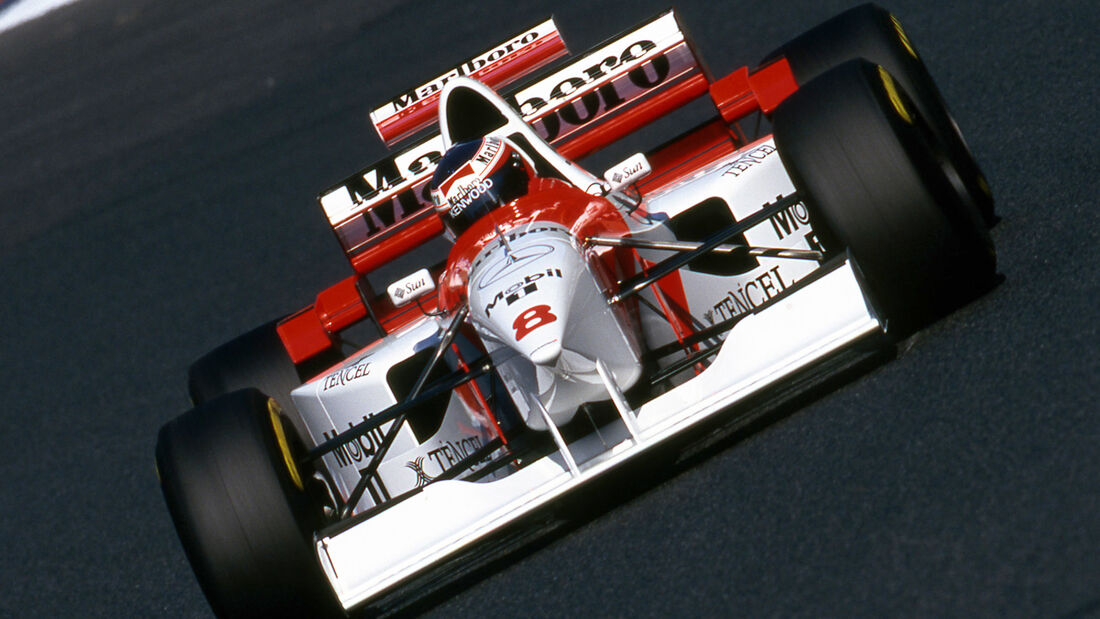 Jan Magnussen - McLaren MP4/10B - Pazifik GP Aida 1995