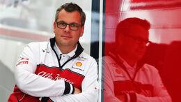 Jan Monchaux - Alfa Romeo Sauber - F1 - Formel 1
