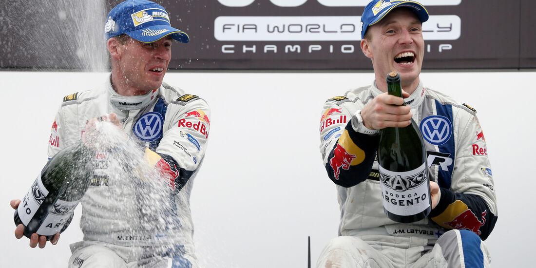 Jari-Matti Latvala - Rallye Argentinien - WRC 2014