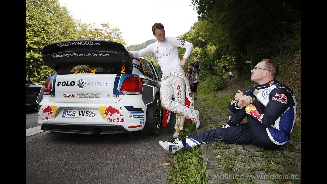 Jari-Matti Latvala - Rallye Deutschland 2015