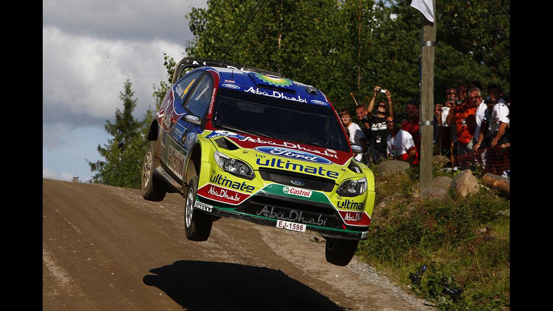 Jari-Matti Latvala, Rallye Finnland 2009, Rallye-Sprünge