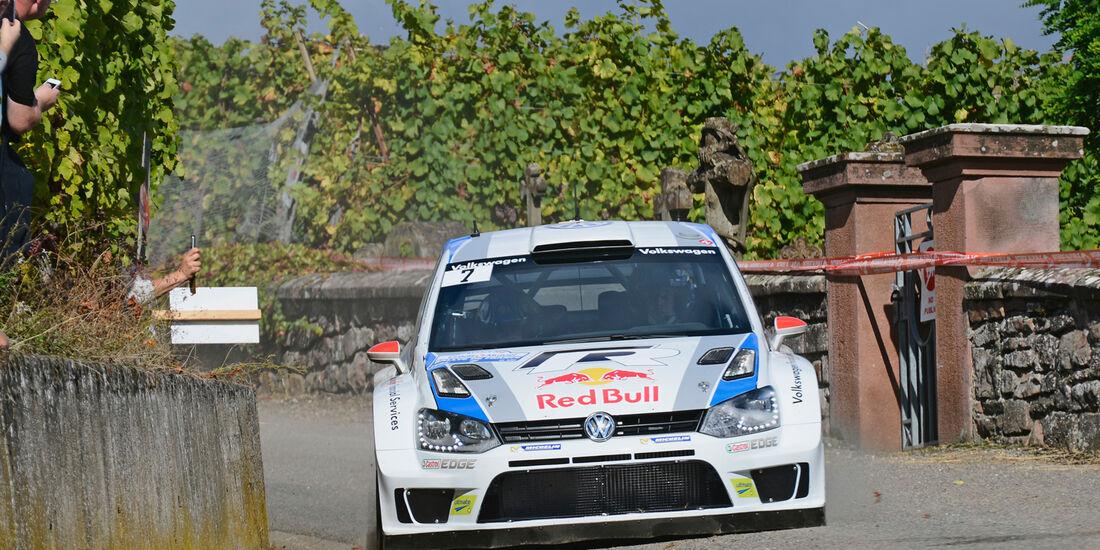 Jari Matti Latvala - Rallye Frankreich 2013