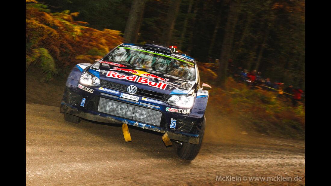Jari Matti Latvala - Rallye GB 2015