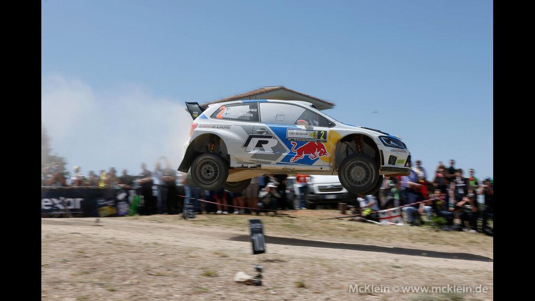 Jari-Matti Latvala - Rallye Sardinien 2014