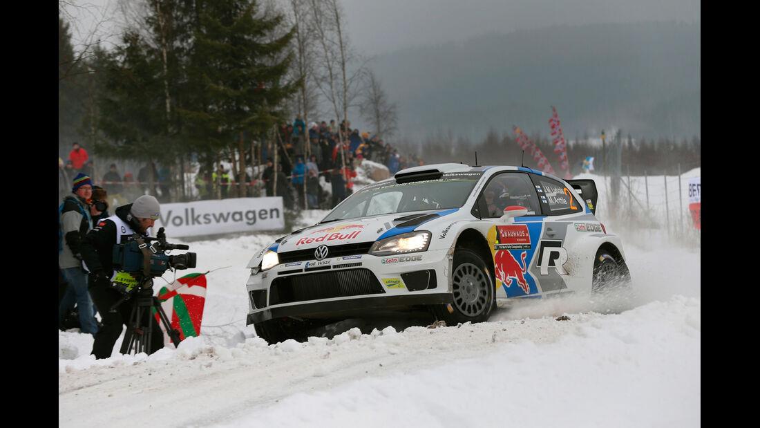 Jari-Matti Latvala - Rallye Schweden 2014