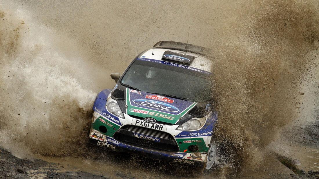 Jari-Matti Latvala Rallye Wales 2012