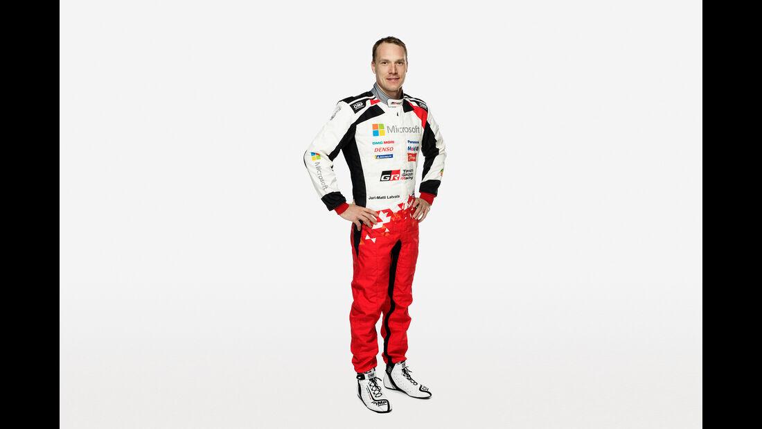 Jari Matti Latvala - Toyota - 2018