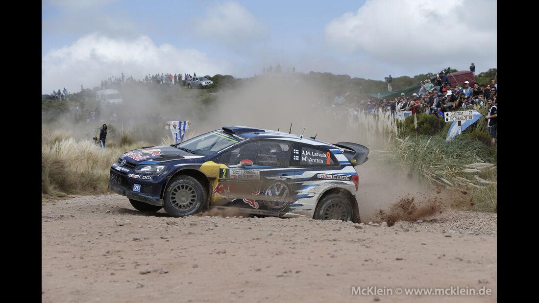 Jari Matti Latvala - WRC - Rallye Argentinien 2015