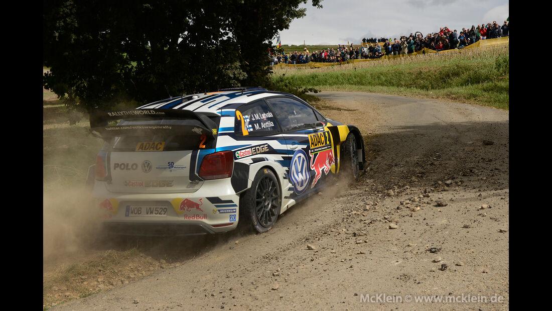 Jari-Matti Latvala - WRC - Rallye Deutschland 2016