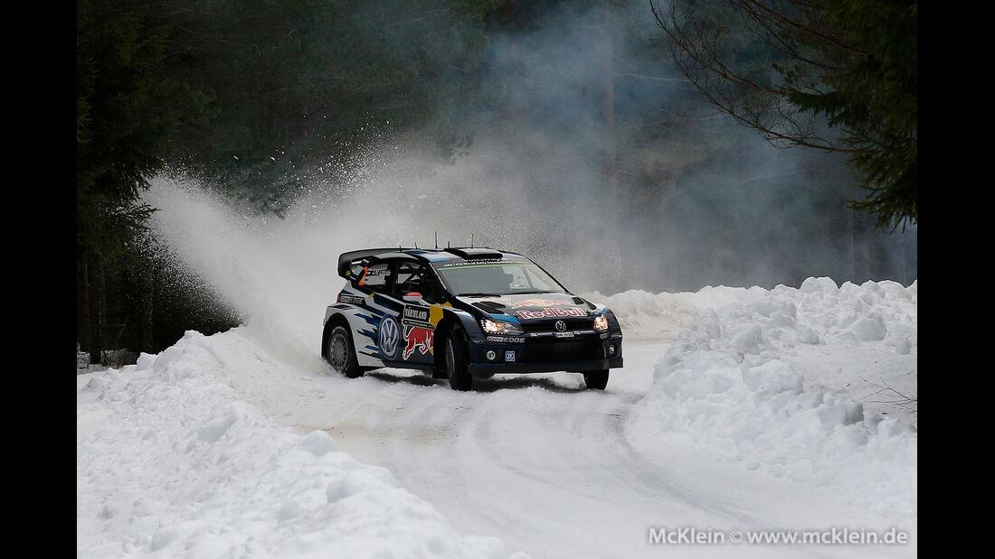 Jari-Matti Latvala - WRC - Rallye Schweden 2015
