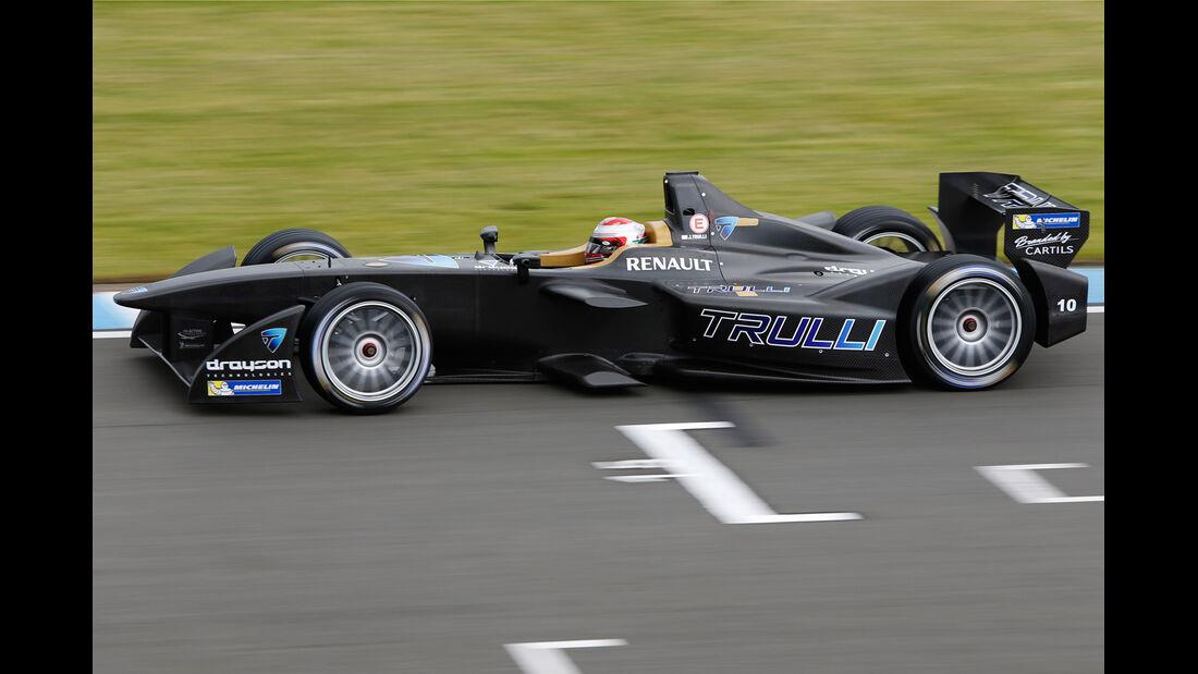 Jarno Trulli - Formel E-Test - Donington - 07/2014