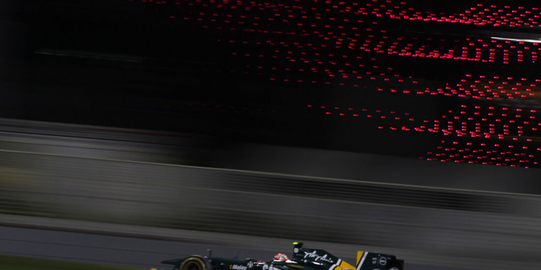 Jarno Trulli GP Abu Dhabi 2011