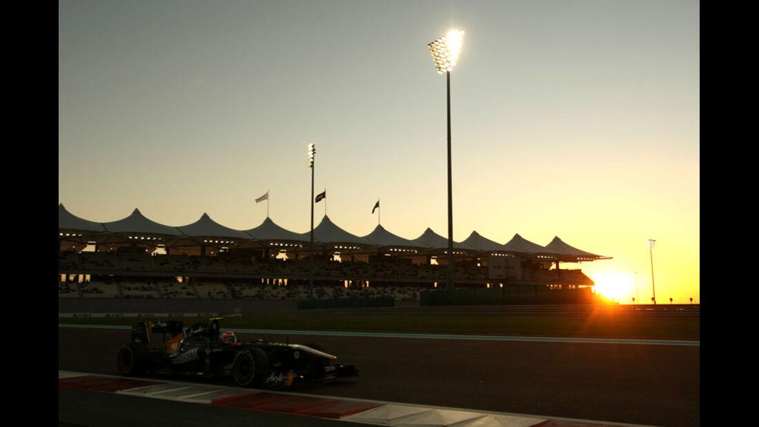 Jarno Trulli - GP Abu Dhabi - Freies Training - 11. November 2011