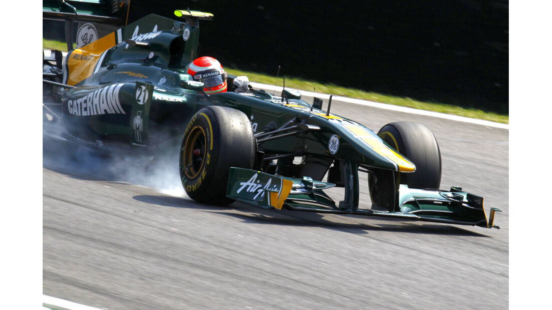 Jarno Trulli GP Brasilien 2011