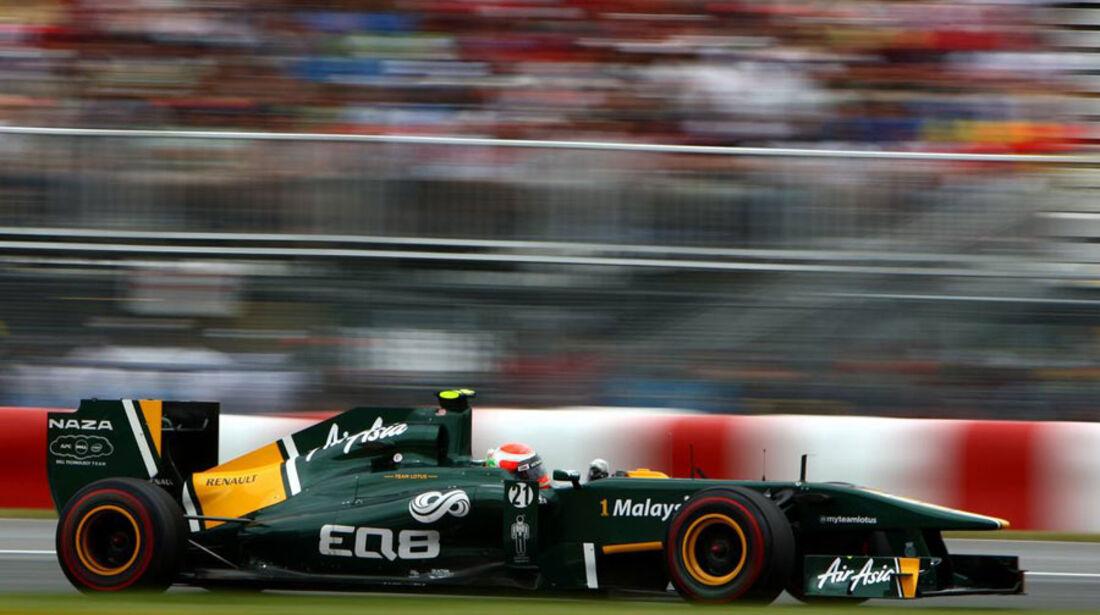 Jarno Trulli GP Kanada 2011