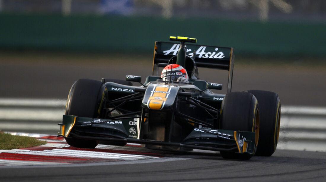 Jarno Trulli GP Korea 2011