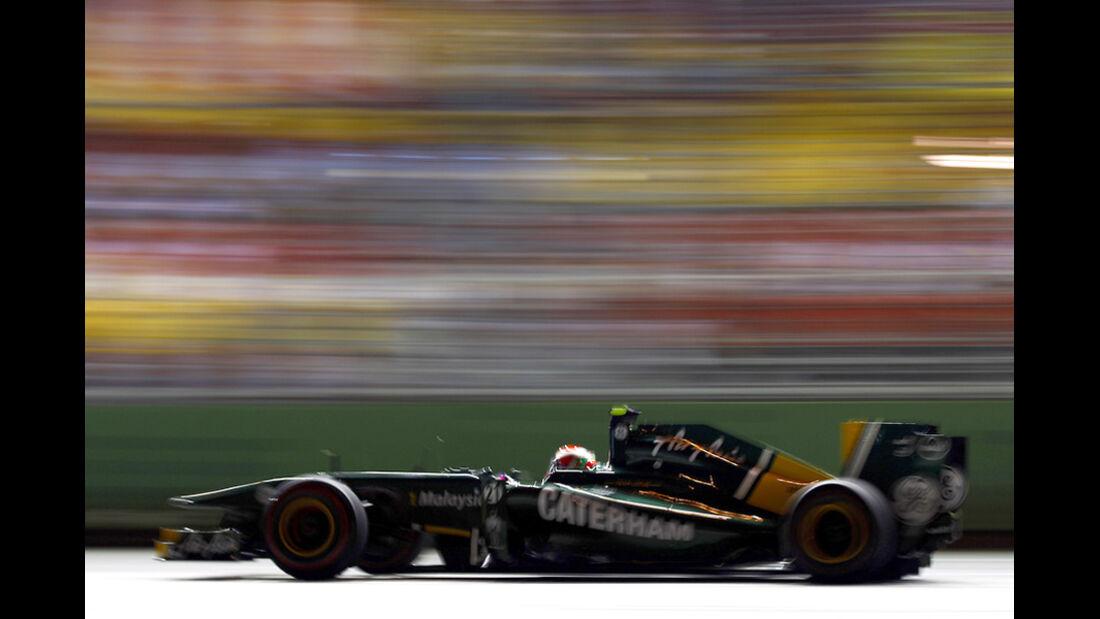 Jarno Trulli Lotus GP Singapur 2011