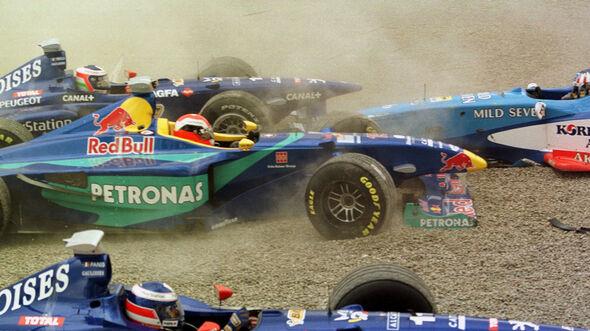 Jarno Trulli - Olivier Panis - Johnny Herbert - Alexander Wurz - GP Kanada 1998