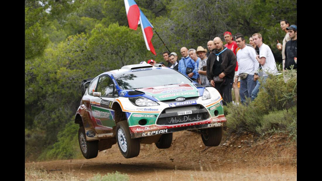 Jarri Matti Latvala Rallye Griechenland 2011
