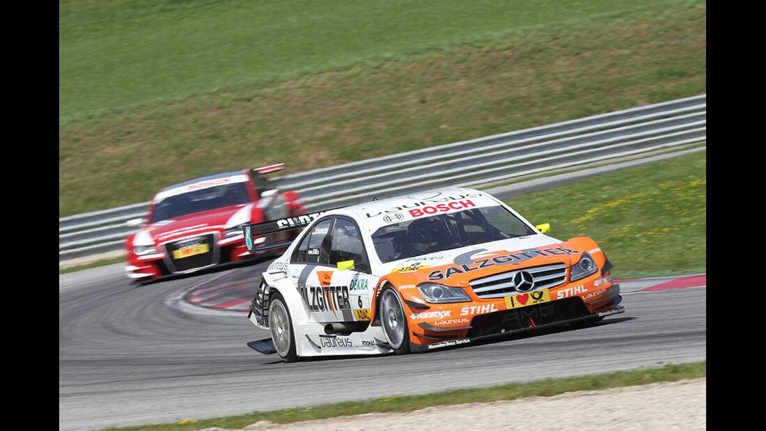 Jarvis, Audi A4 DTM, Schumacher, Mercedes C-Klasse DTM,  DTM, Spielberg, 2011