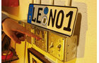 Jay Leno, Autosammlung, Nummernschild