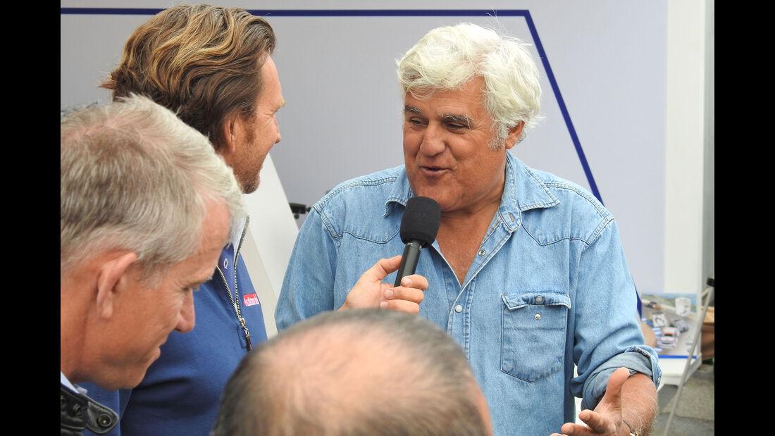 Jay Leno - Monterey Motorsports Reunion 2016 - Laguna Seca