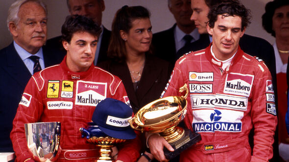 Jean Alesi - Ayrton Senna - GP Monaco 1991