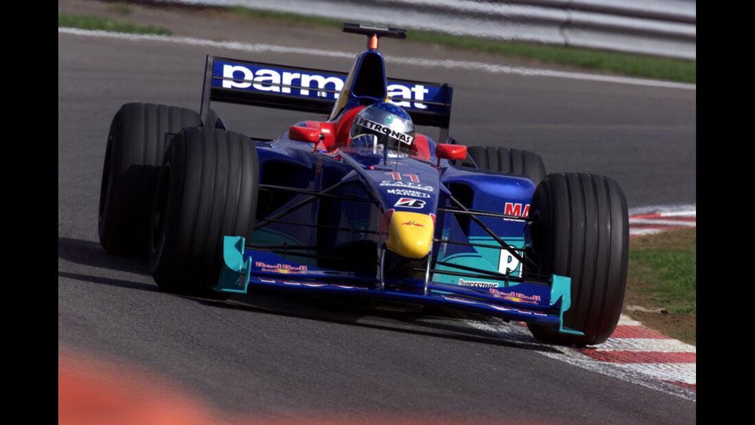 Jean Alesi GP Belgien 1999
